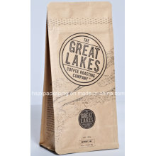 Paper Stand up Ziplock Coffee Packaging Bag with Zipper