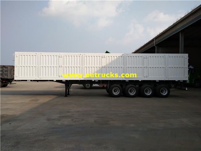 60ton Cargo Box Trailers