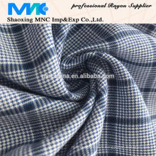 Tissu de rayonne de teinture de fil de haute qualité