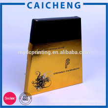 Recycled materials matte/glossy lamination feature cosmetic box
