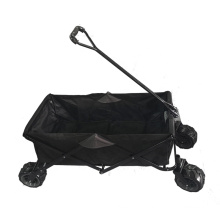 Portable Garden Wagon Cart Folding Beach Trolley Cart Without Roof