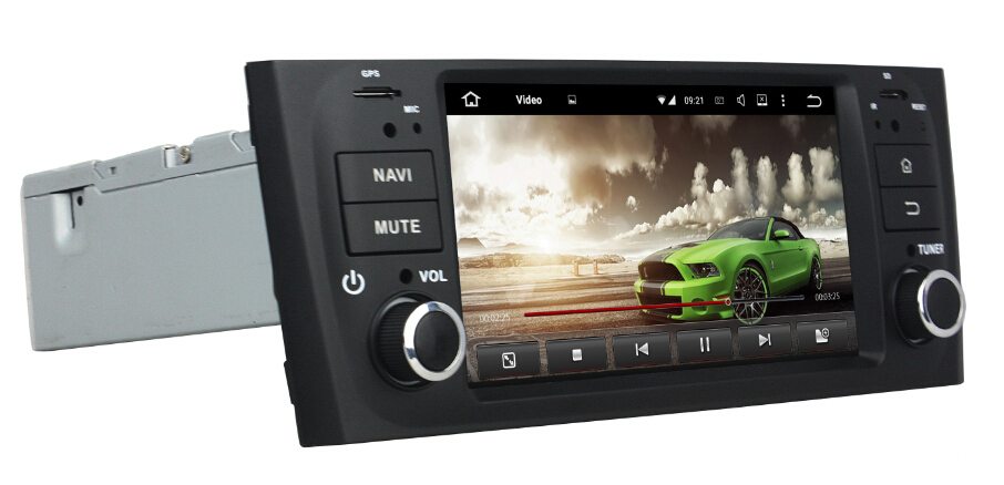 Pemain Android 7.1 Fiat Linea Pemain DVD