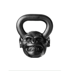 36 LB Chimp Animal Face Kettlebell