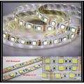DC12V Dimmable impermeável 300 leds CCT flexível SMD5050 dupla cor levou luz de tira