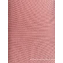 Tecido de vestuário da moda em malha canelada