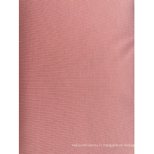 Tissu de vêtement de mode en tricot côtelé
