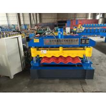 Glazed Tile Steel Sheet Corrugated Roof Making Machine