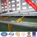 10m 5kn acero galvanizado poste eléctrico para la línea de distribución de Ghana