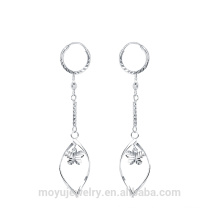925 sterling silver clip on tassels earrings
