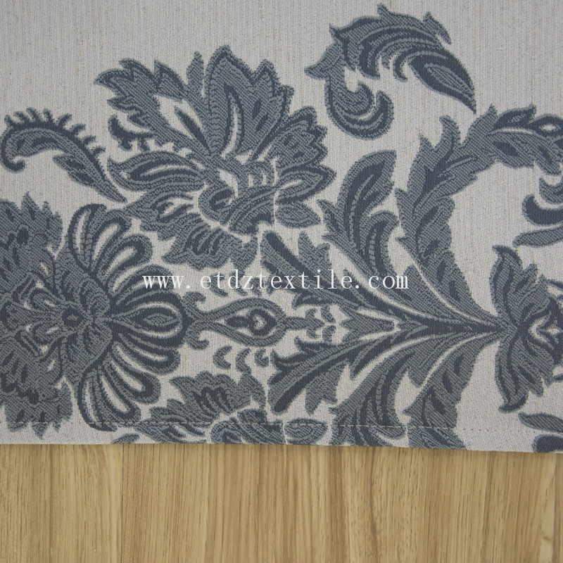 Jacquard Yarn Dyed Curtain Fabric FR2142