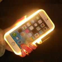 Caso de teléfono de precio de fábrica con luz LED