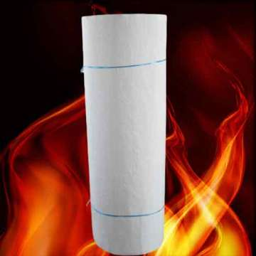 Pure White Fireproof Airgel Insulation Blankets