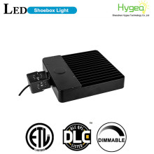 DLC terdaftar IP65 150W LED Shoebox Pole Lights