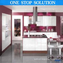 2016 Armário de cozinha moderno de nova chegada (cor vermelha)