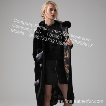 Revestible Lady Australia Merino Shearling Coat