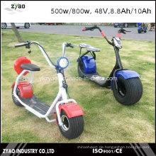 Hot Sell Coco City Elektroroller 800W, 48V, 8.8ah mit 2 Rädern für Erwachsene