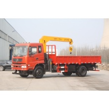 Customized for Truck Mounted Mobile Crane 6 ton crane truck boom truck supply to Morocco Manufacturers