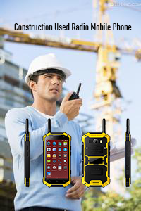 Construction Used Radio Mobile Phone