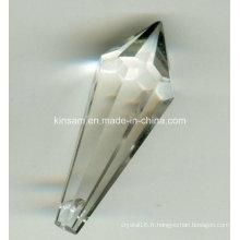 Pièces de lustre en cristal en gros chinois de pièces de lustre en verre