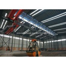 Taller prefabricado de la estructura ligera de acero de alta calidad