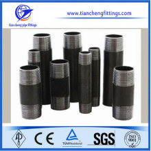 Black NPT ASTM A53 Steel Barrel Nipple