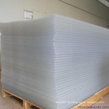 2mm dicke PVC klare starre Blatt