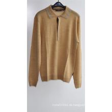 100% Wolle Herren Langarm Strick Pullover Pullover