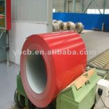 Red galvalume steel sheet