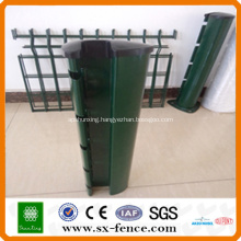 factory price pvc coated fence post