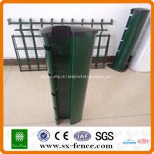 postes de cerca de PVC coloridos