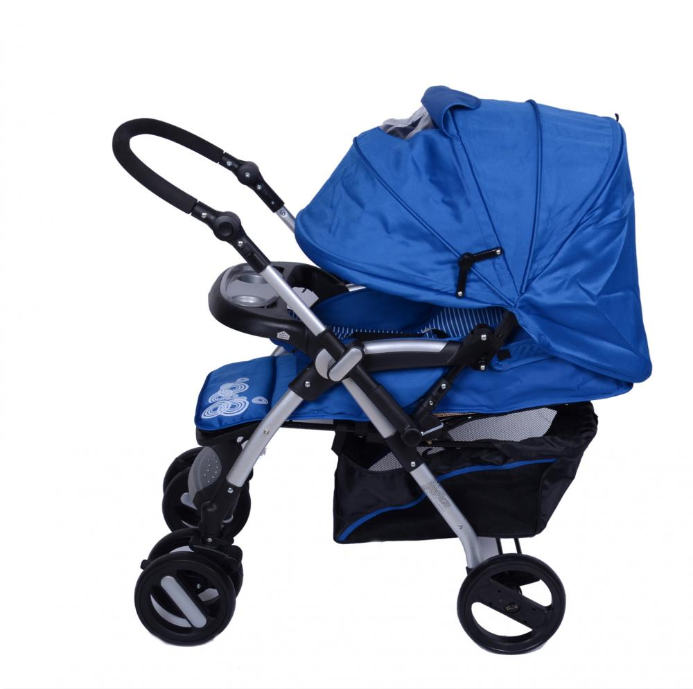Whole Canopy with Skylight Luxury Baby Stroller