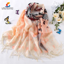 multi colour 100% Wool Pashmina scarves long Women beautiful soft wrap shawl