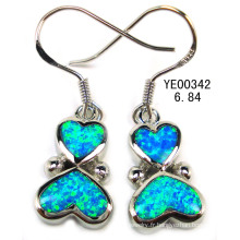 Boucles d'oreilles opale Silver Jewelry (YE00036)