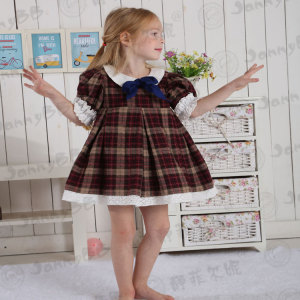 Girls Fall vintage ourfits back to school dress