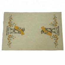 2018 Kefei bonito personalizado impresso chá toalha