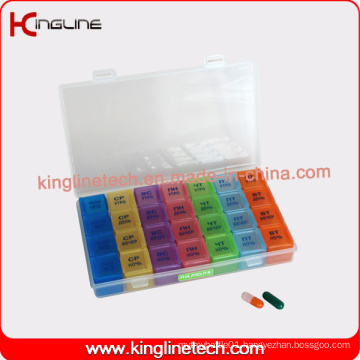 Plastic Pill Case with 28-Cases (KL-9031)