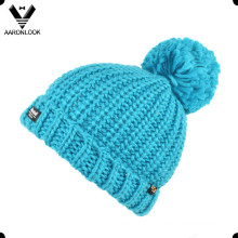Crianças inverno chapéu malha quente com Thinsulate