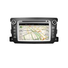 android 4.4 lecteur de radio de dvd de voiture 5.1 pour Benz Smart avec l'écran tactile Wifi
