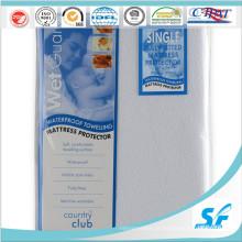 Colchão médico impermeável para baixo protetor do colchão de Microfiber