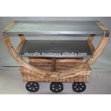 Chariot à barres industrielles Loft