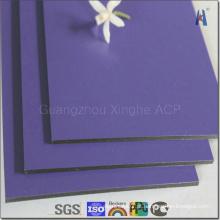 Publicidade ACP, Placa de alumínio para publicidade exterior