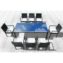 Esstisch & Stühle für Outdoor mit Stühlen / SGS (1048-1)