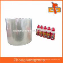 factory new material soft heat seal PVC POF shrink film for packaging ad printing