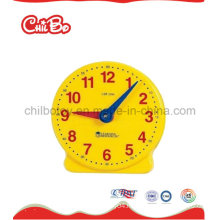 Plastic Teacher Clock Toys, School Supply, Learning Toys (CB-ED017-S)