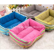 Rainbow Stripe Pet Bed for Dog and Cat