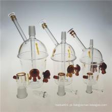 Rigs Honey Cup Vidro Oil Rigs Pipes de água fumaça (ES-GB-388)