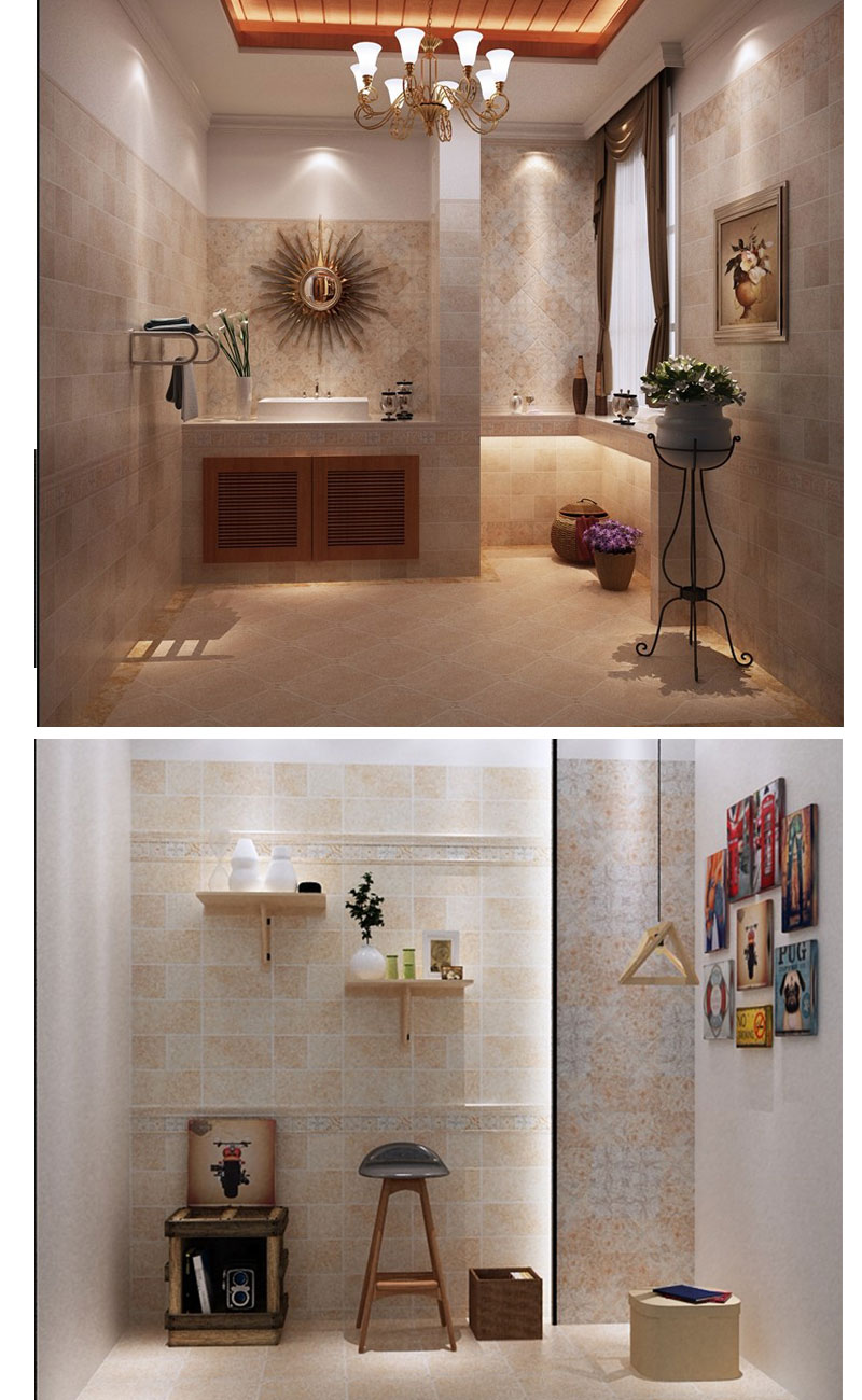 glazed tiles for shower walls