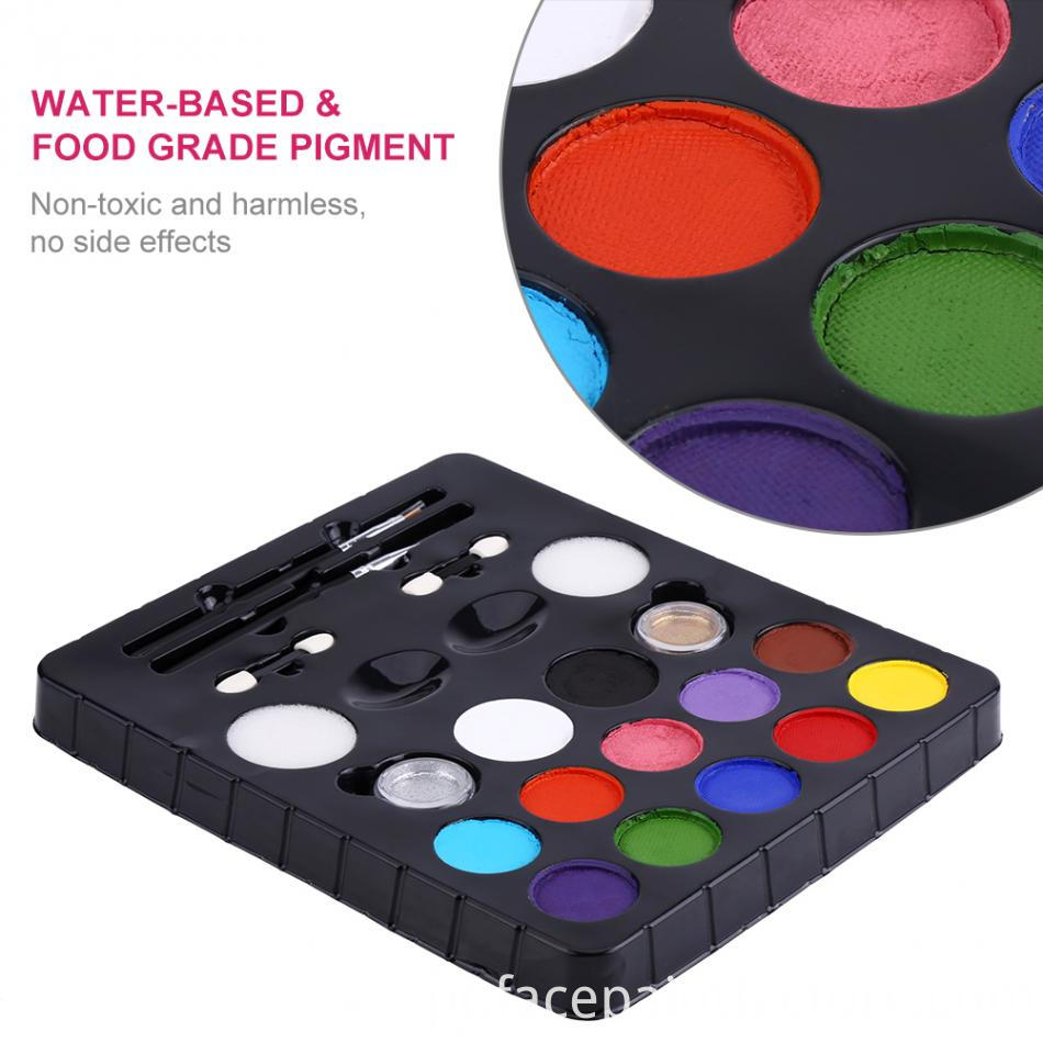 Water Based Face Paint Kit