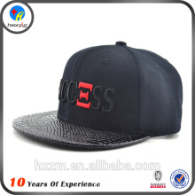 3d embroidery snap back hat