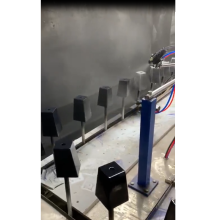 máquina de pintura automática spray pés natuzzi sofá